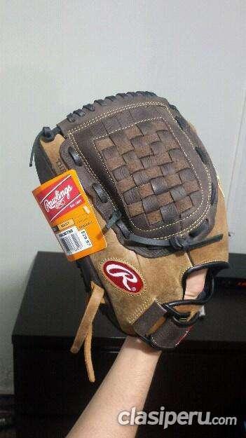 Oportunidad!! guante baseball para zurdos oferta!