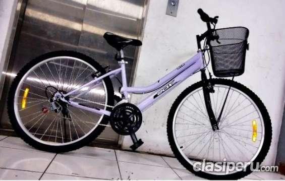 Estoy buscando vender **********hermosa bicicleta para mujer boxbike blanca******* acq aro 26 oferta especial.