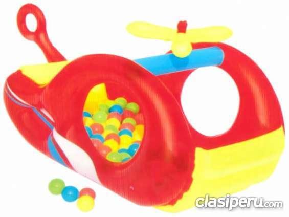 Tengo que vender inflable modelo helicoptero. bestway 52183 excelente estado.