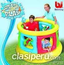 En estos dias vendo inflable saltarin infantil pelotero bestway 52056.nuevo oferta!