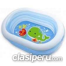 Poco uso piscina inflable ovalada de intex 57482 urgentísimo.