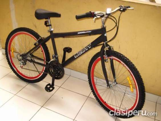 Vendo bicicleta aro 26 scott uso urbano ya!!!!!!!!!!!