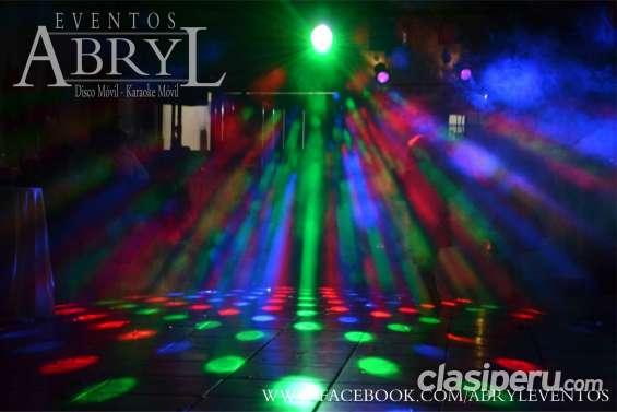 Alquiler de deejay y luces para eventos