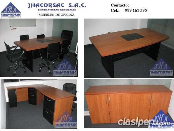 muebles de melamine oficina