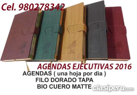 AGENDAS EJECUTIVAS PUBLICITARIAS