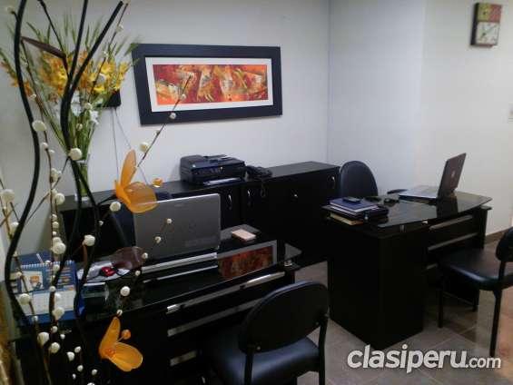 Alquiler de oficina virtual administrativo en miraflores.