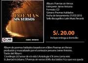 Cd álbum poemas sin versos/jaime antonio/poemas h…