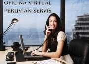 Se alquila oficina ejecutiva virtual en miraflores