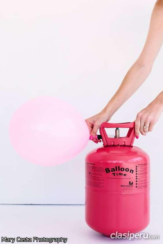Venta de balones de helio descartables para fiestas
