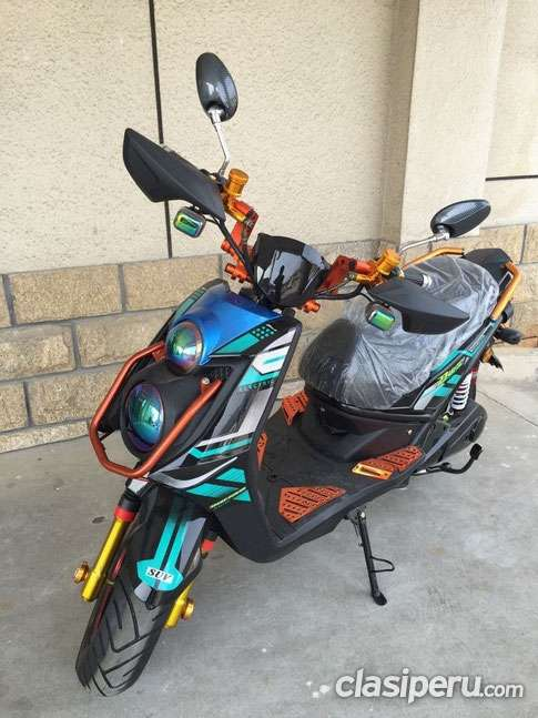 moto solar - electrica