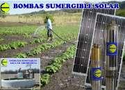 Bombas solares a bajo precio !