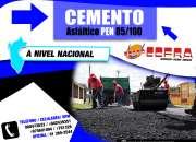 Asfalto & cementos asfalticos 85/100 a todo el pe…