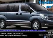 Traslados privados en minivan