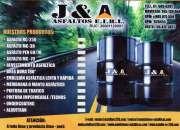 Asfaltos -breas somos productores y distribuidores