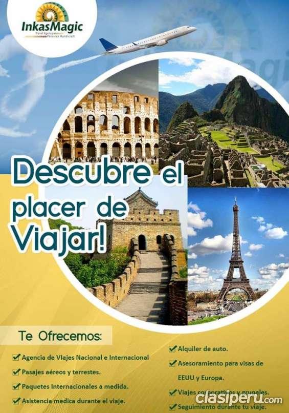 Ofrecemos el mejor servicio con grandes promociones de  paquetes turísticos.