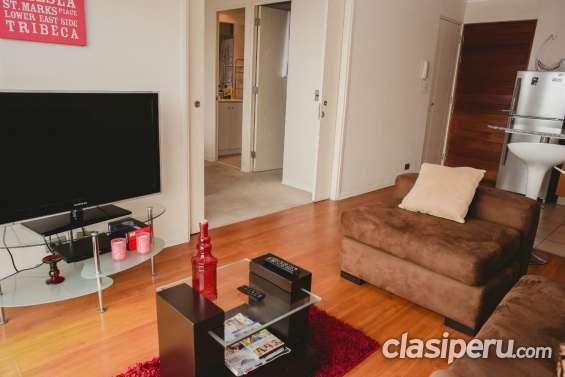 Alquiler temporal de departamentos de una habitacion lima peru precios oferta