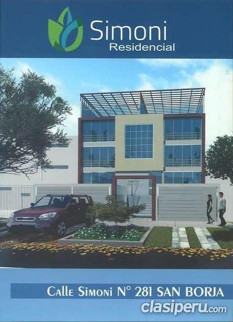 Venta de departamento en lima residencial simoni en san borja