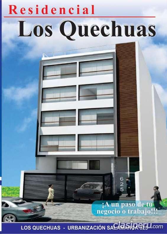 Venta de departamentos en lima residencial los quechuas