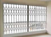 Rejas plegadizas/plegables 100% aluminio para ven…