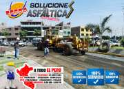 Servicio de carpeta asfaltica de 1, 2, 3, pulgas/…