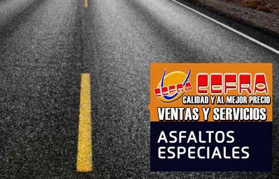 Cofra eirl hace trabajo de asfaltado a nivel nacional