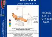 Sillon unidad dental gnatus g2