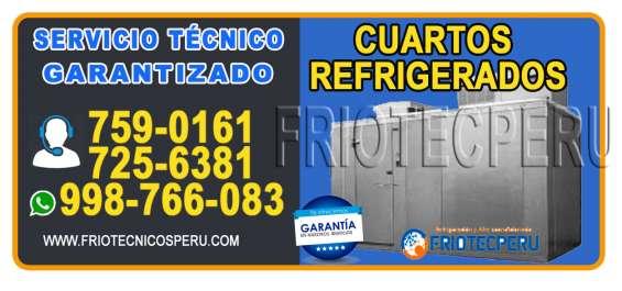 Asistencia tecnica en camaras frigorificas y cuartos frios