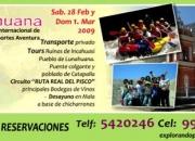 TOUR A LUNAHUANA  XX festival de turismo de aventura