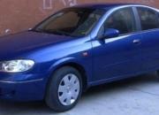 Vendo nissan almera 2005 lujoso azul