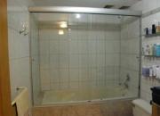 Puertas de ducha c/ cristal  templado y/ acrilico