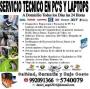 Servicio Profesional de Pc's y Laptops a Domicilio en todo Lima y Callao