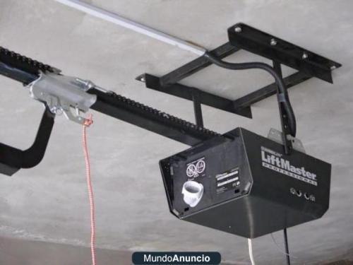 Puertas de garaje a control remoto levadizas,corrediza, y otros