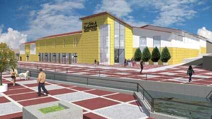 Diseño y construcción de centros comerciales