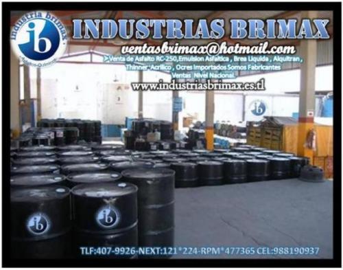 Ofrecemos en venta emulsion asfaltica y cationica industrias brimax nextel:121*224