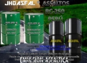 VENTA DE EMULSION CATIONICA * ASFALTICA-250-RC