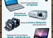 Reparación de laptops, reparación de mac, reparación de proyectores soporteperu