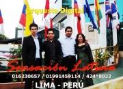 Orquesta digital para aniversarios - sensacion latina - cumbia , salsa , merengue , rock