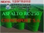 Venta de emulsion asfaltica cationica rapida next:129*5205 s/ 300.00