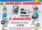 Reparacion tecnico de Pc y Laptop a Domicilio (Lima - Peru)