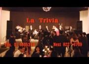 Orquesta para matrimonios LA TRIVIA Orquesta en Lima Peru