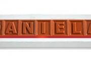 Recuerdos personalizados con Letras de Chocolate.