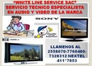 SONY 2558070/411*7853 SERVICIO TECNICO DE LCD-TELEVISORES SONY ESPECIALISTAS