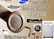 Servicio tecnico de lavadoras bosch, kenmore