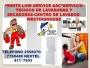 WESTINGHOUSE 411*7853/2558070 SERVICIO TECNICO DE LAVADORAS WESTINGHOUSE REPARACIONES