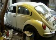 Remato volkswagen escarabajo blanco a $500 dolares