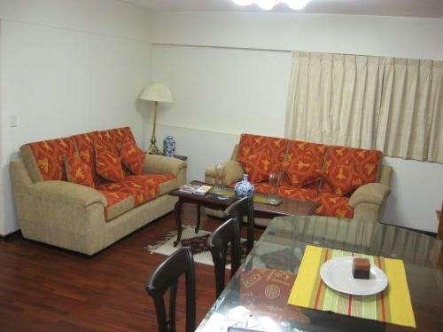Alquiler amoblado departamento 100 m2 2 habitaciones larco benavides