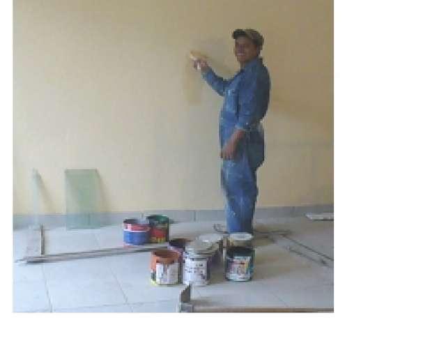 Pintor de casas y edificios - con recibo de honorarios