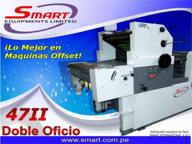 Maquina impresora offset doble oficio smart 47 i i