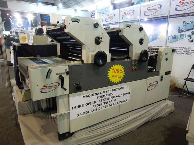 Fotos de Maquina impresora offset dos colores smart  56 d 3