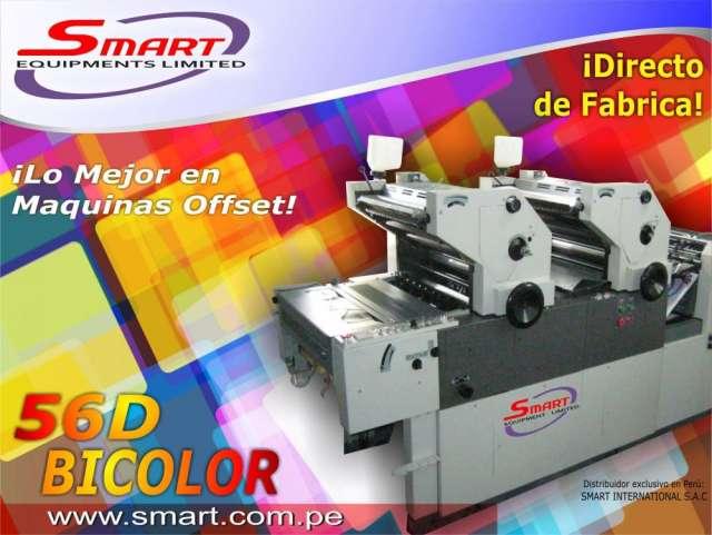 Fotos de Maquina impresora offset dos colores smart  56 d 1